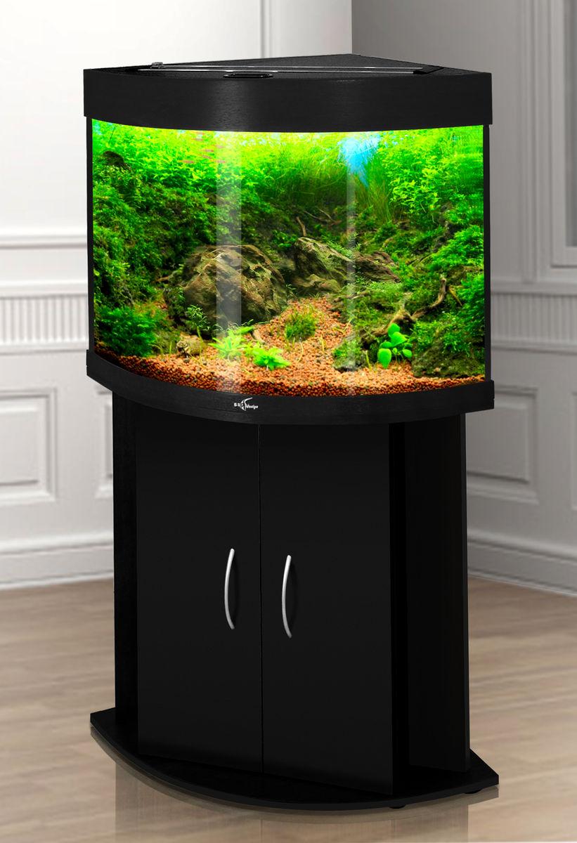 Угловой аквариум Биодизайн ДИАРАМА 90 (90 л., 6 цветов)