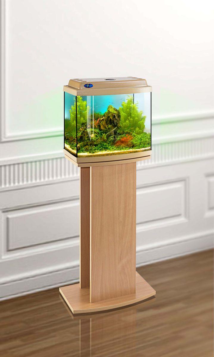 Комплект аквариум+тумба КЛАССИК 30R (бук) 27 л лампа 1*6W в комплекте