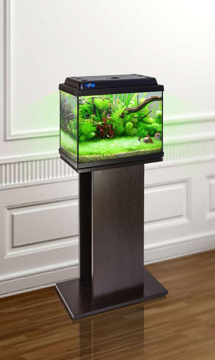 Комплект аквариум+тумба КЛАССИК 30 (венге) 28 л лампа 1*6W в комплекте