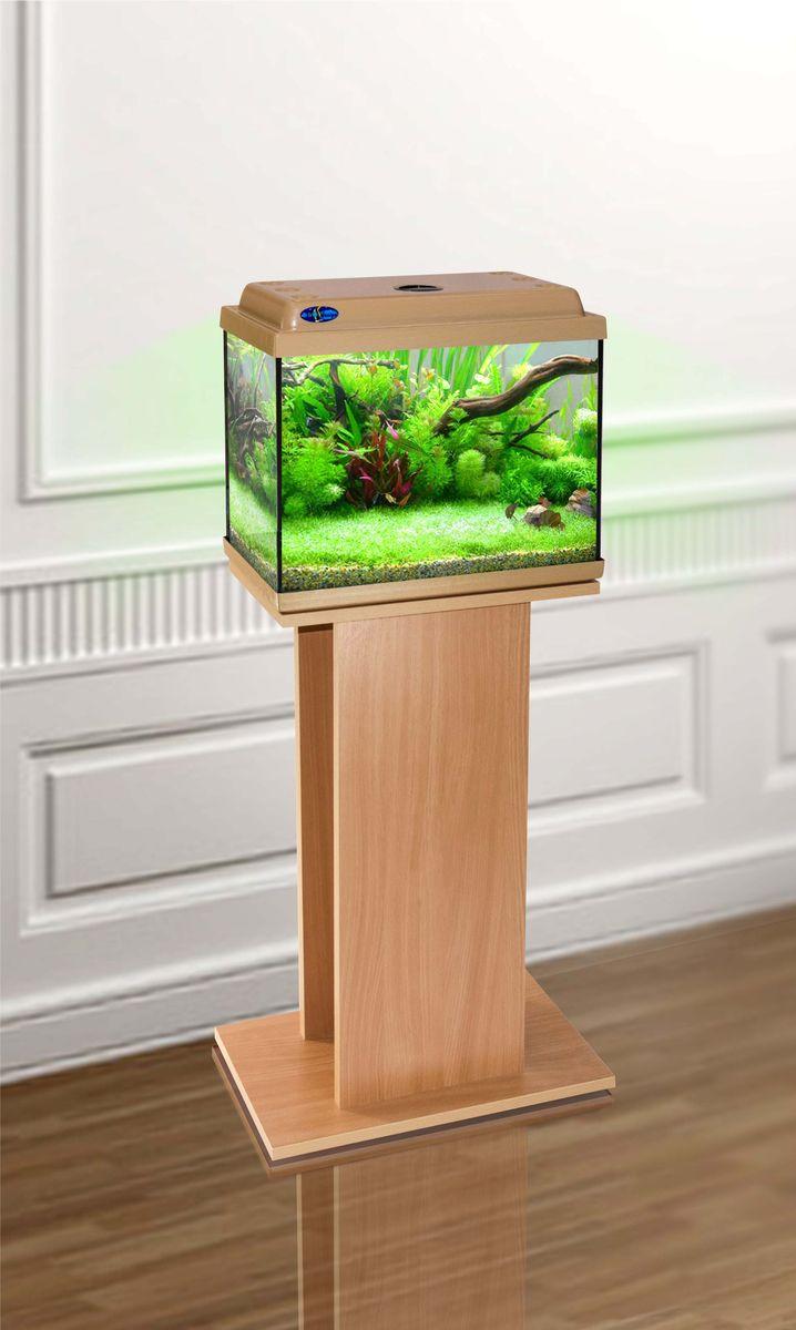 Комплект аквариум+тумба КЛАССИК 30 (бук) 28 л лампа 1*6W в комплекте