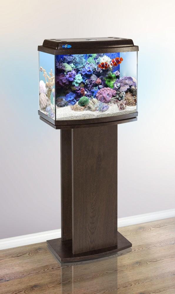 Аквариум Биодизайн КЛАССИК 40R панорамный (38 л., 5 цветов) с освещением и оборудованием
