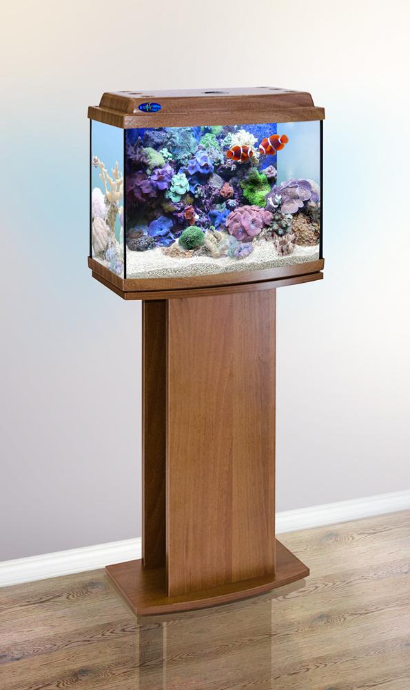 Комплект аквариум+тумба КЛАССИК 40R (золотой дуб) 38 л лампа 1*6W в комплекте