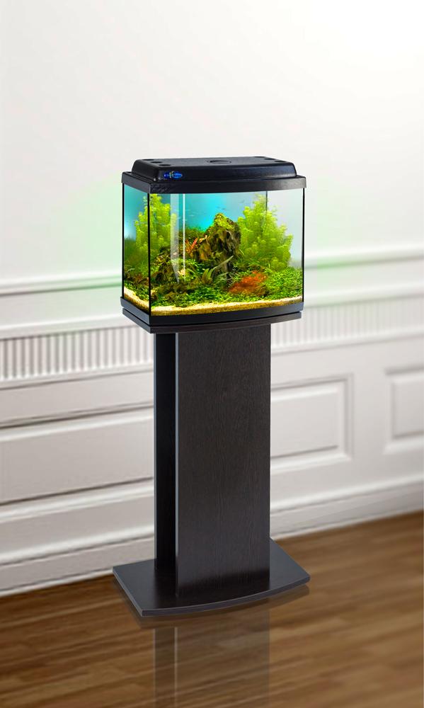 Комплект аквариум+тумба КЛАССИК 30R (венге) 27 л лампа 1*6W в комплекте