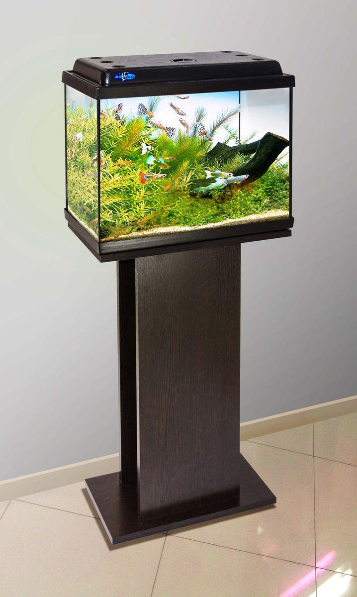 Комплект аквариум+тумба КЛАССИК 40 (венге) 39 л лампа 1*6W в комплекте