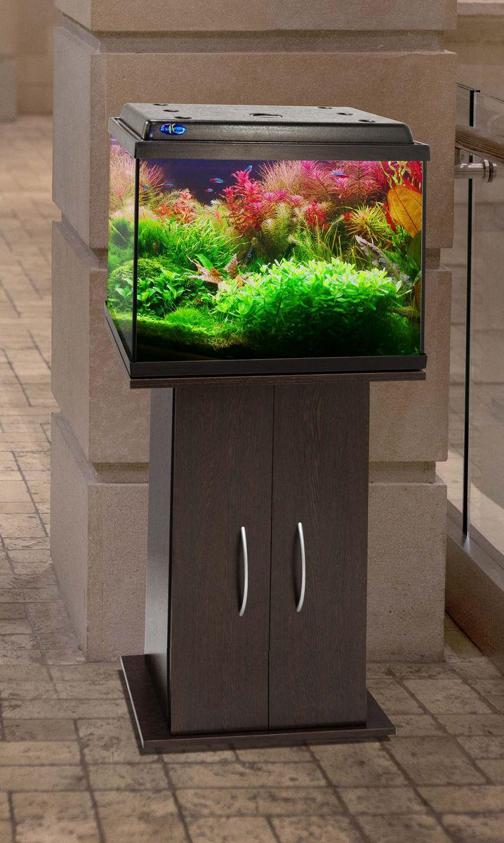 Комплект аквариум+тумба КЛАССИК 50 (венге) 55 л лампа 1*6W в комплекте