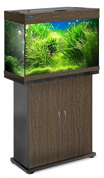 Комплект аквариум+тумба РИФ 110 лампы 2*24W в комплекте (венге) 104л