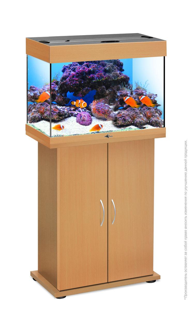 Комплект аквариум+тумба РИФ 60 лампы 2*15W в комплекте (бук) 60л