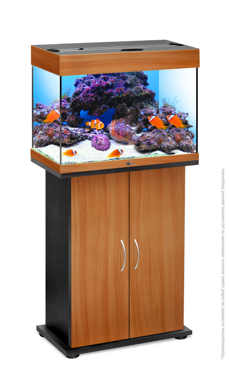 Комплект аквариум+тумба РИФ 60 лампы 2*15W в комплекте (груша) 60л