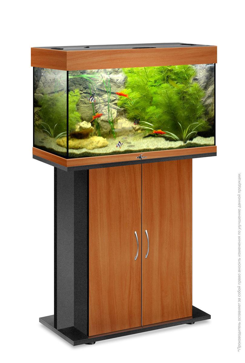 Комплект аквариум+тумба РИФ 80 лампы 2*18W в комплекте (груша) 82л