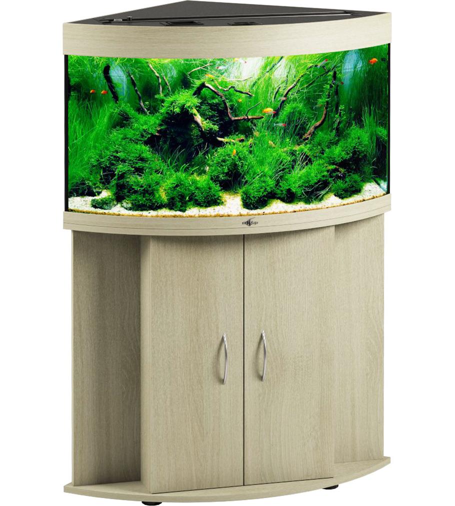 Угловой аквариум Биодизайн ДИАРАМА 150 (130 л., 6 цветов)