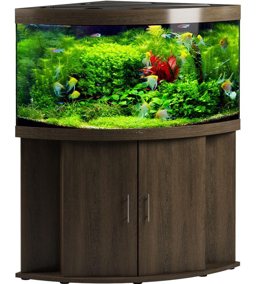 Угловой аквариум Биодизайн ДИАРАМА 400 (350 л., 6 цветов)