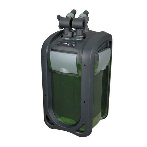Внешний регулируемый канистровый биофильтр с наполнителями BY-DGN-410A, 4-30W (300-1610л/ч, h=0,5-3м, керам.вал) 240х240х411