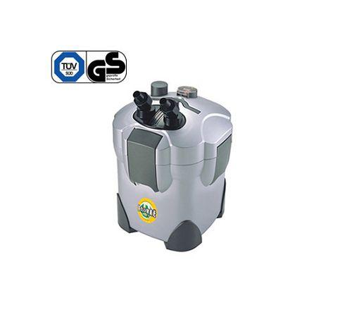 Внешний канистровый биологический фильтр с UV-стерилизацией и наполнителями BY-EFU-10, 16W (300л/ч, керамич.вал, акв. до 300л, UV 5W)