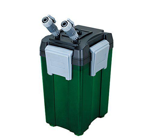 Внешний канистровый биологический фильтр BY-FEF-280A, 18W (зелёный, 1000л/ч, h=1,2м, керамич.вал, акв. 150-400л, 4 корзины)