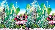 Фон для аквариума высота 30 см (рулон длина 15 м) HL-BG12