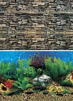Фон для аквариума высота 80 см (рулон длина 15 м) DB321