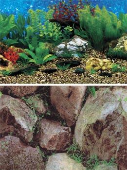 Фон для аквариума высота 50 см (рулон длина 15 м) DB8