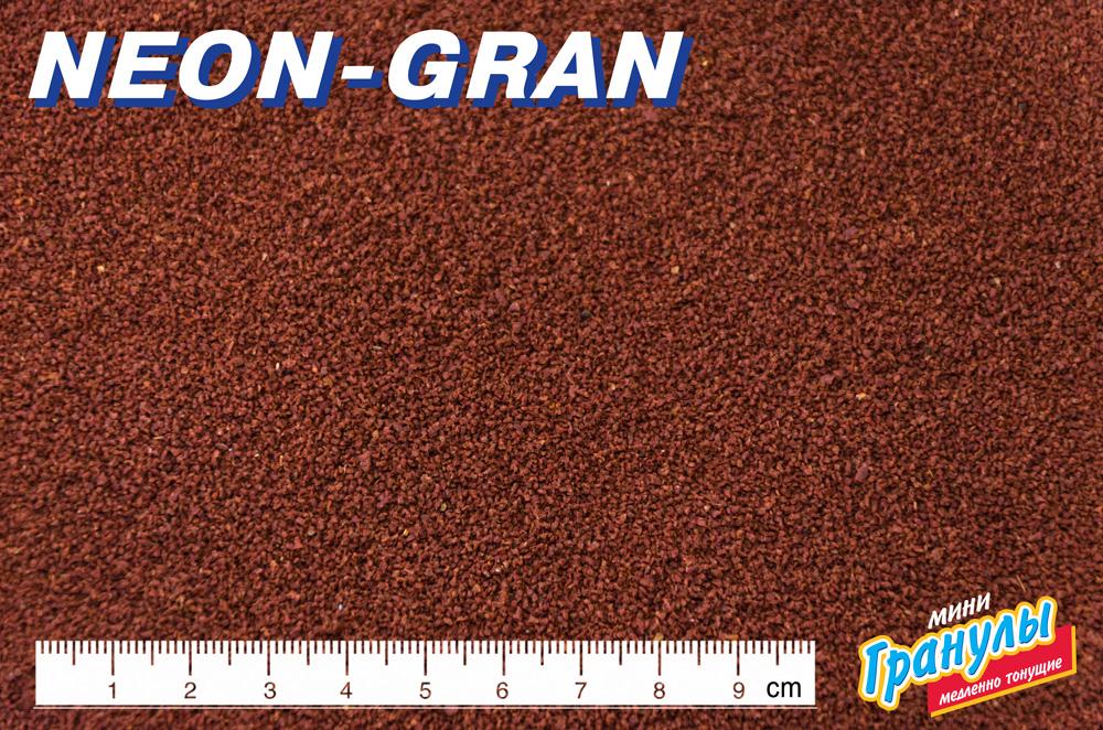 НЕОН-ГРАН тонущие мини гранулы основной высокопротеиновый (54%) корм для всех видов харациновых мелких рыб (МЕШОК 15 кг) 911306