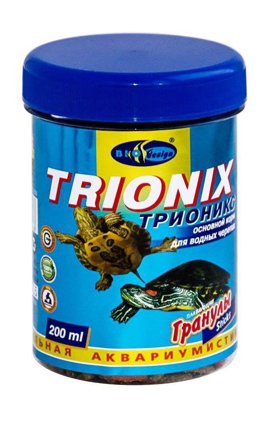 ТРИОНИКС плавающие палочки (sticks) 2 вида корм для водных черепах (банка 250 мл) 911412