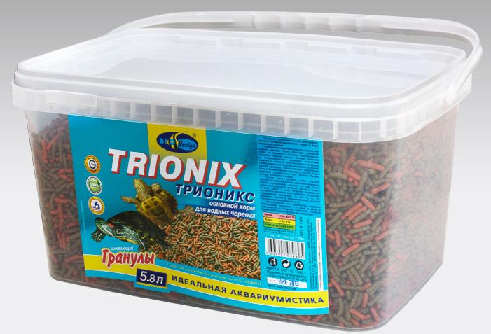 ТРИОНИКС плавающие палочки (sticks) 2 вида корм для водных черепах (ВЕДРО 5,8 литров) 911104