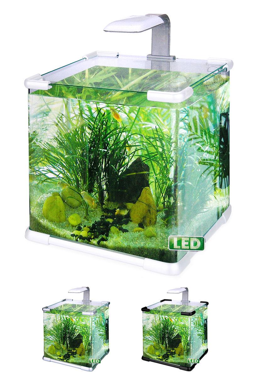 Нано-аквариум 40 литров с оборудованием (белый) HL-C-40W