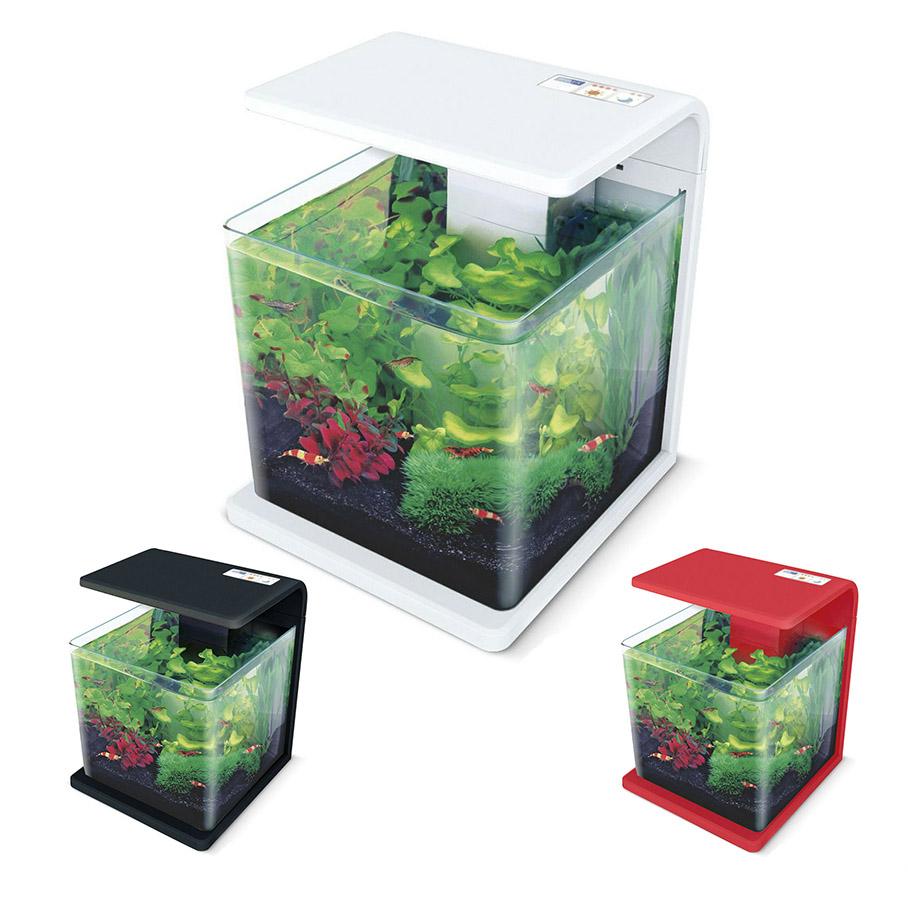 Нано-аквариум 15 литров с оборудованием (белый) HL-E15W