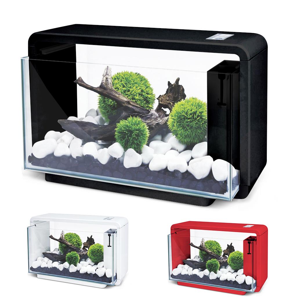Нано-аквариум 25 литров с оборудованием (чёрный) HL-E25B