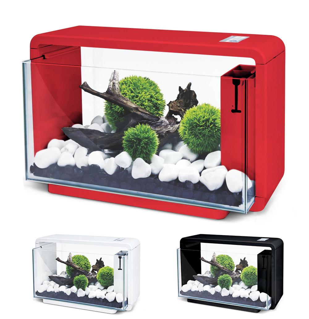 Нано-аквариум 25 литров с оборудованием (красный) HL-E25R