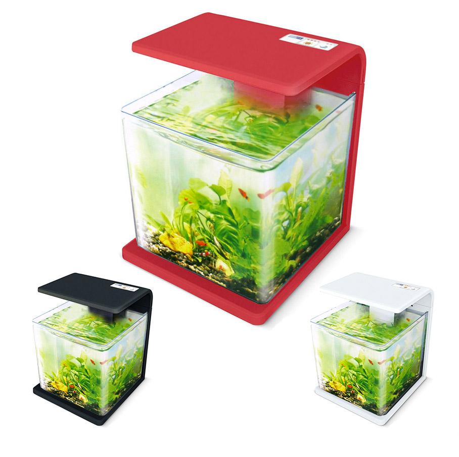 Нано-аквариум 30 литров с оборудованием (красный) HL-E30R
