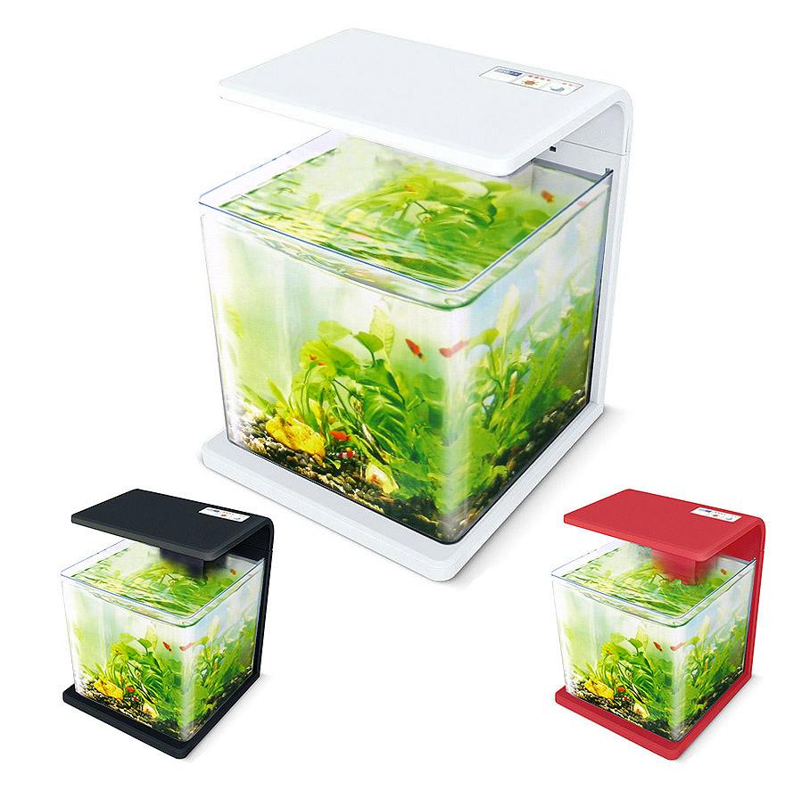 Нано-аквариум 30 литров с оборудованием (белый) HL-E30W