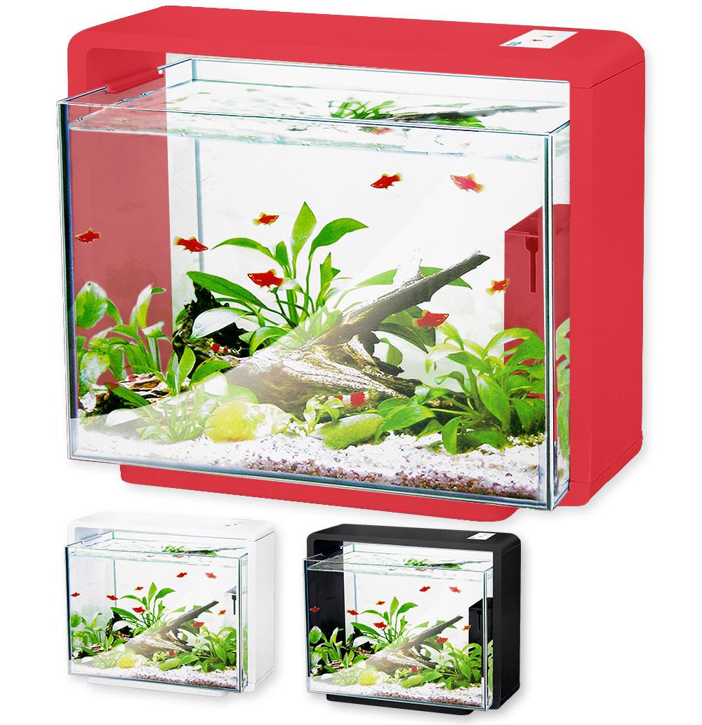 Нано-аквариум 40 литров с оборудованием (красный) HL-E40R