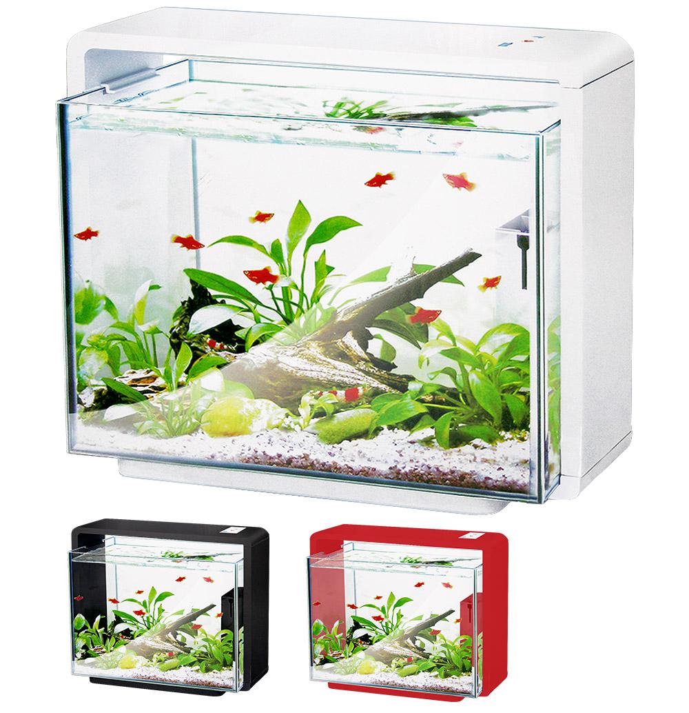 Нано-аквариум 40 литров с оборудованием (белый) HL-E40W