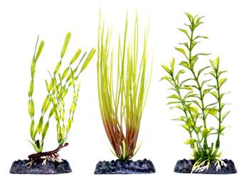 Набор растений 3 шт с утяжелителем (15 см) PLP1H