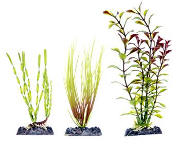 Набор растений 3 шт с утяжелителем (15-20 см) PLP4H