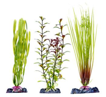 Набор растений 3 шт с утяжелителем (20 см) PLP7H