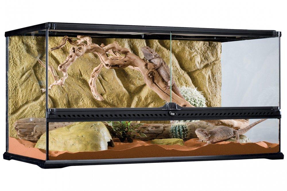 Террариум EXO TERRA 90х45х45 с объёмным фоном