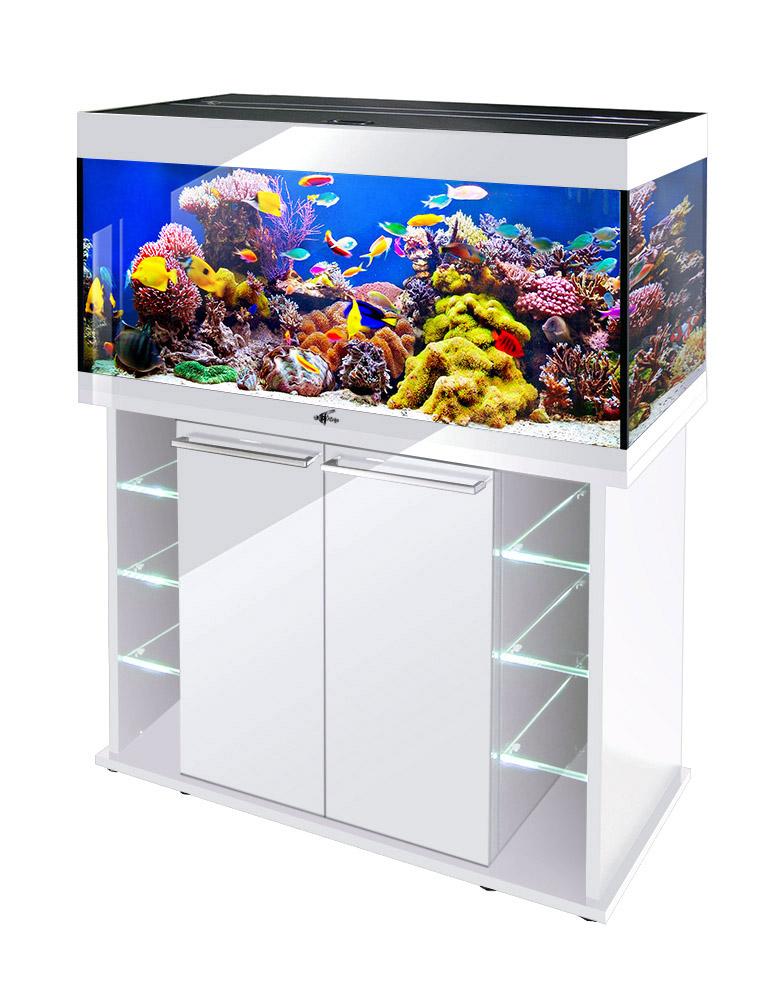 Аквариум Биодизайн CRYSTAL 145 (143 л., 3 цвета)