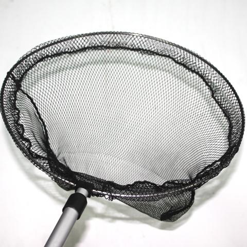Сачок прудовый с телескопической ручкой диагональ 30 см (HL-FFNR-12)