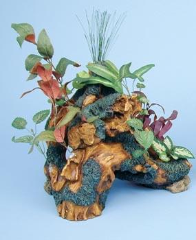 Декоративная коряга с растениями (DGT1)