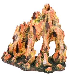 Декор желтые скалы с укрытиями большие (25*10*25) R991