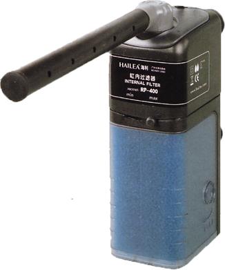 Аквариумный фильтр внутренний с дождевальной флейтой + регулировка (50-200 л/час) HL-RP-200