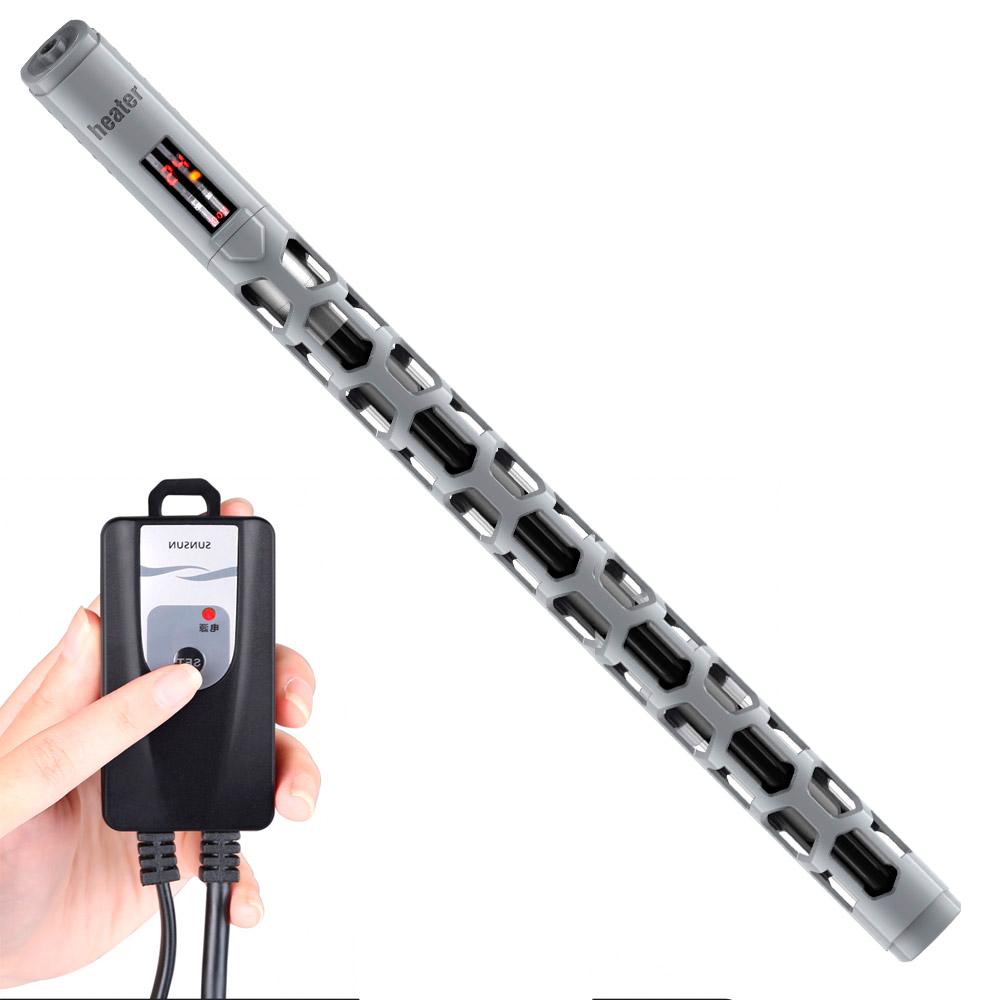 Обогреватель с терморегулятором, LED диспл., пласт. защитой и пультом управления 500W (акв. до 500 литров) SS-YRB-850