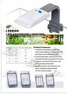Светодиодный светильник для нано аквариумов (3W) HL-I30